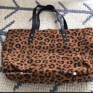 Jcrew cheetah bag ✨✨
